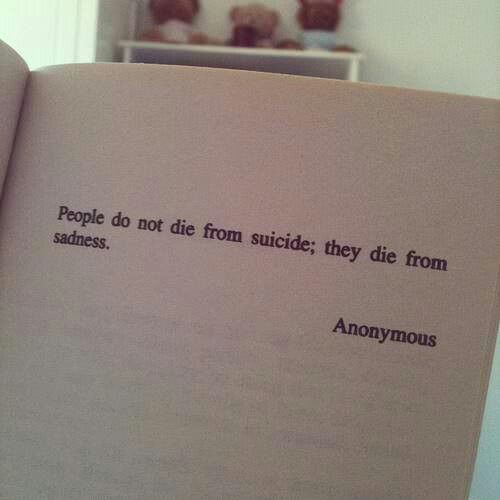 Sadness quote suicide die sad Quotes and phrases Classy Suicidal Quotes About Love