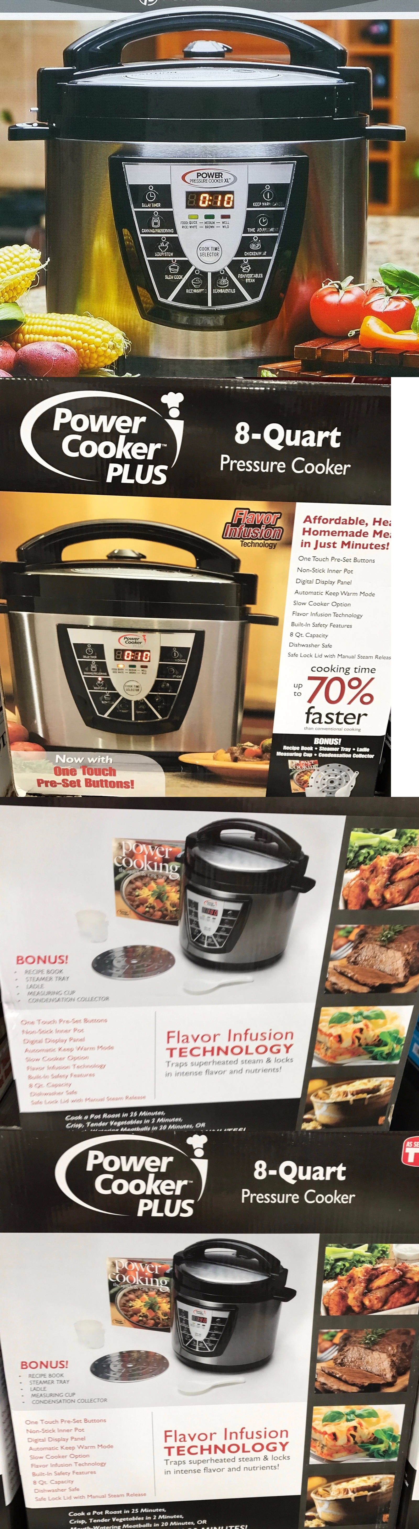 Cookers and steamers digital power pressure cooker canner