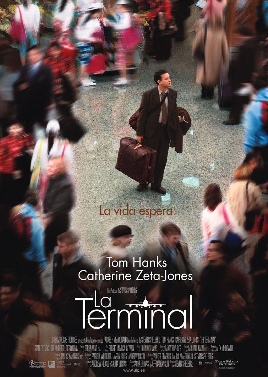 The Terminal Steven Spielberg Movies Tom Hanks Movie Covers