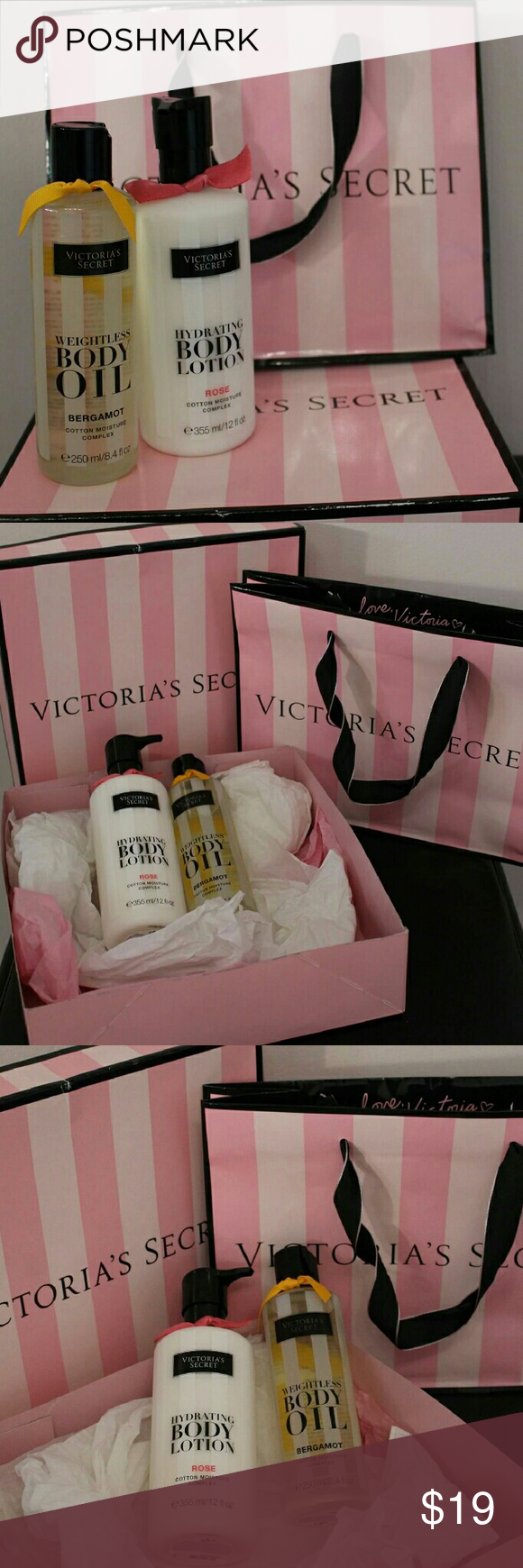 Victoria's secret body lotion and body oil Great gift for any female. With box and bag. Body oil and body lotion. Victoria's Secret Other