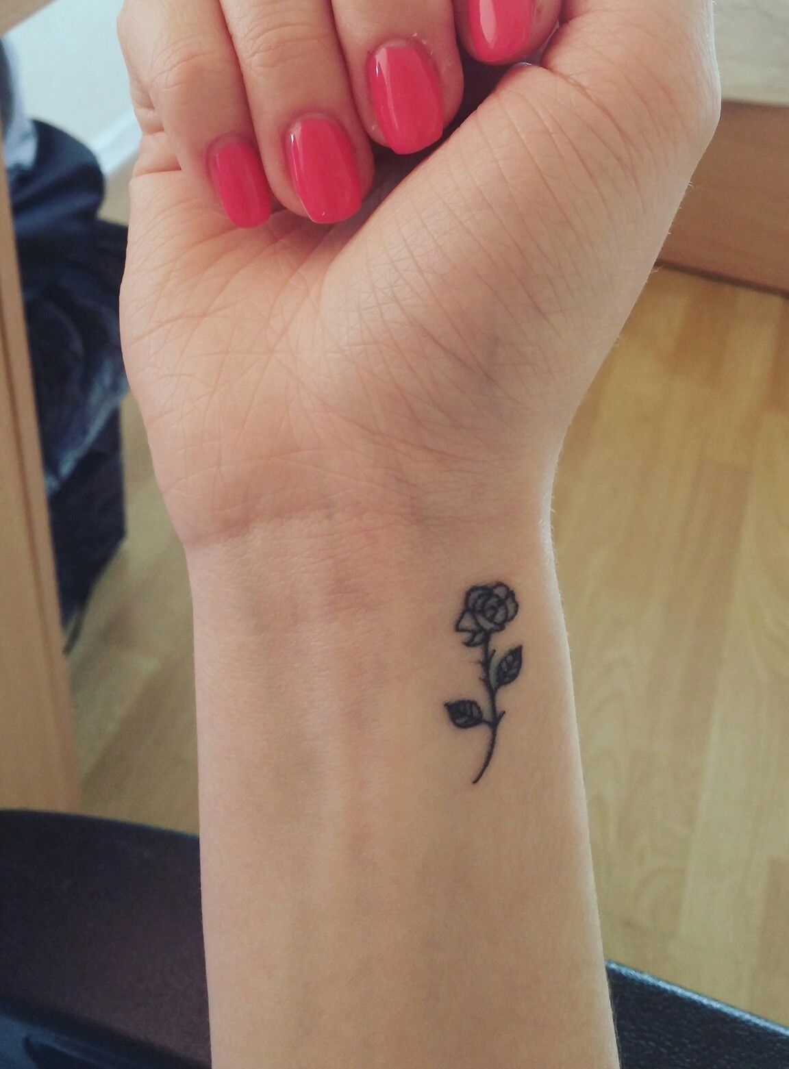 Rose Tattoo With Images Rose Tattoos On Wrist Wrist