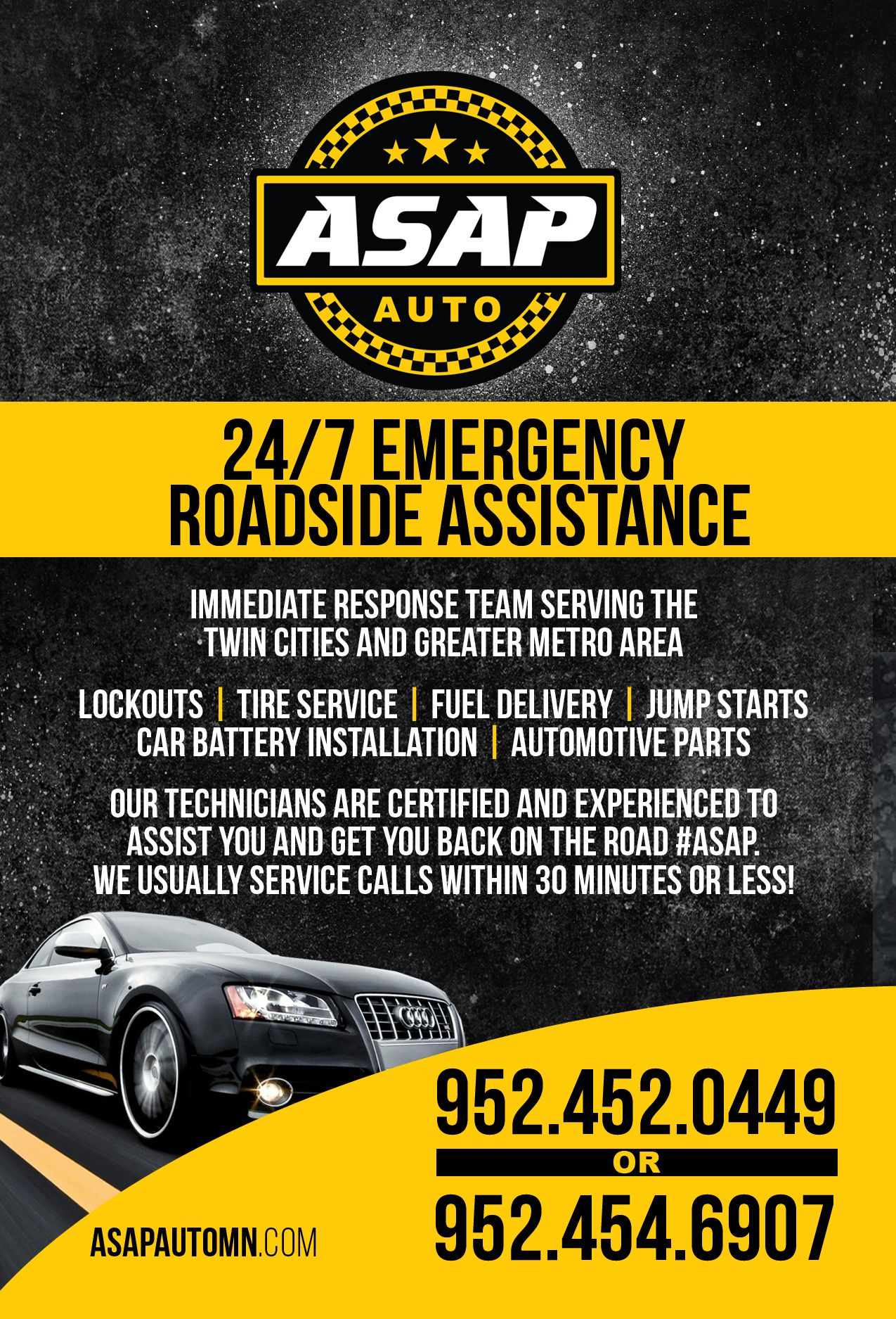 Pin by asap auto of mn on roadside assistance emergency