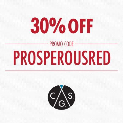 Prosper with CGS this CHINESE NEW YEAR! 30% off on any red coloured ...