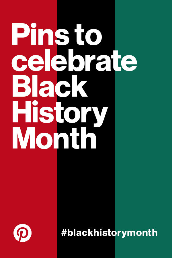We see hundreds of thousands of searches and saves on important cultural topics on our platform every day. To celebrate Black History Month, we wanted to highlight black culture, history and icons on this board. This content is sourced from Pinners like you, as well as Pinterest's internal employees.