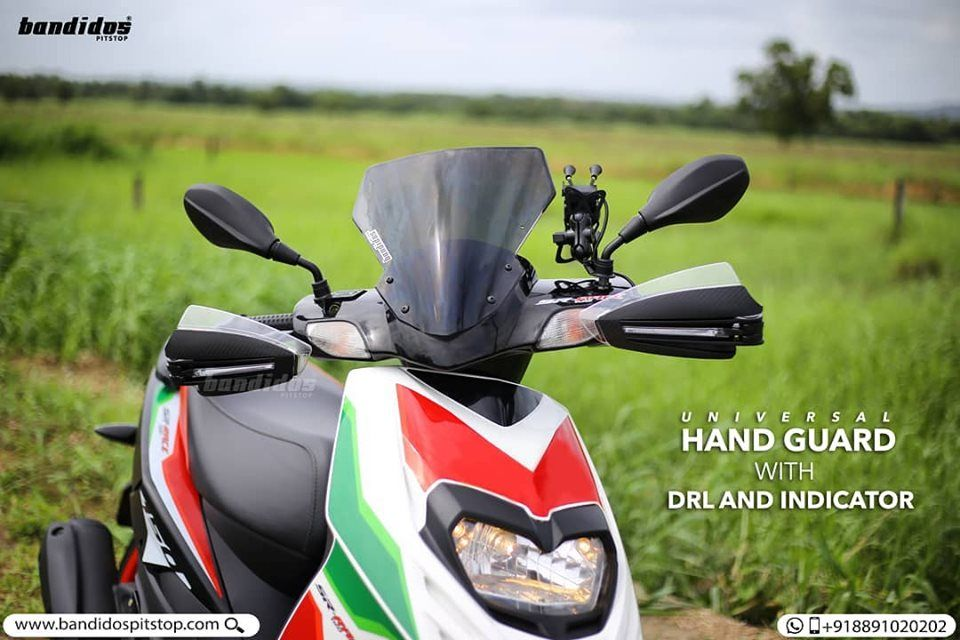 Presenting Universal Hand Guard With Drl And Indicator That Suits