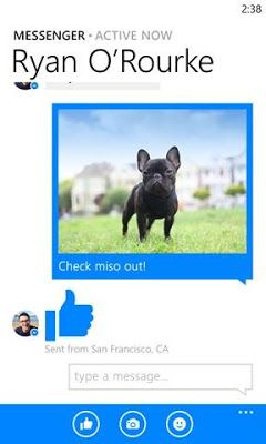 Download Facebook Messenger XAP For Windows Phone