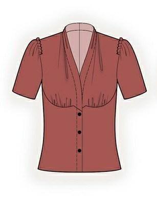 Blouse Sewing Pattern 5990 | Sewing patterns, Patterns and Pattern ...