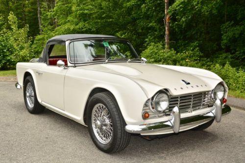 Details about 1963 Triumph TR4 TR4 | Antique cars, Car