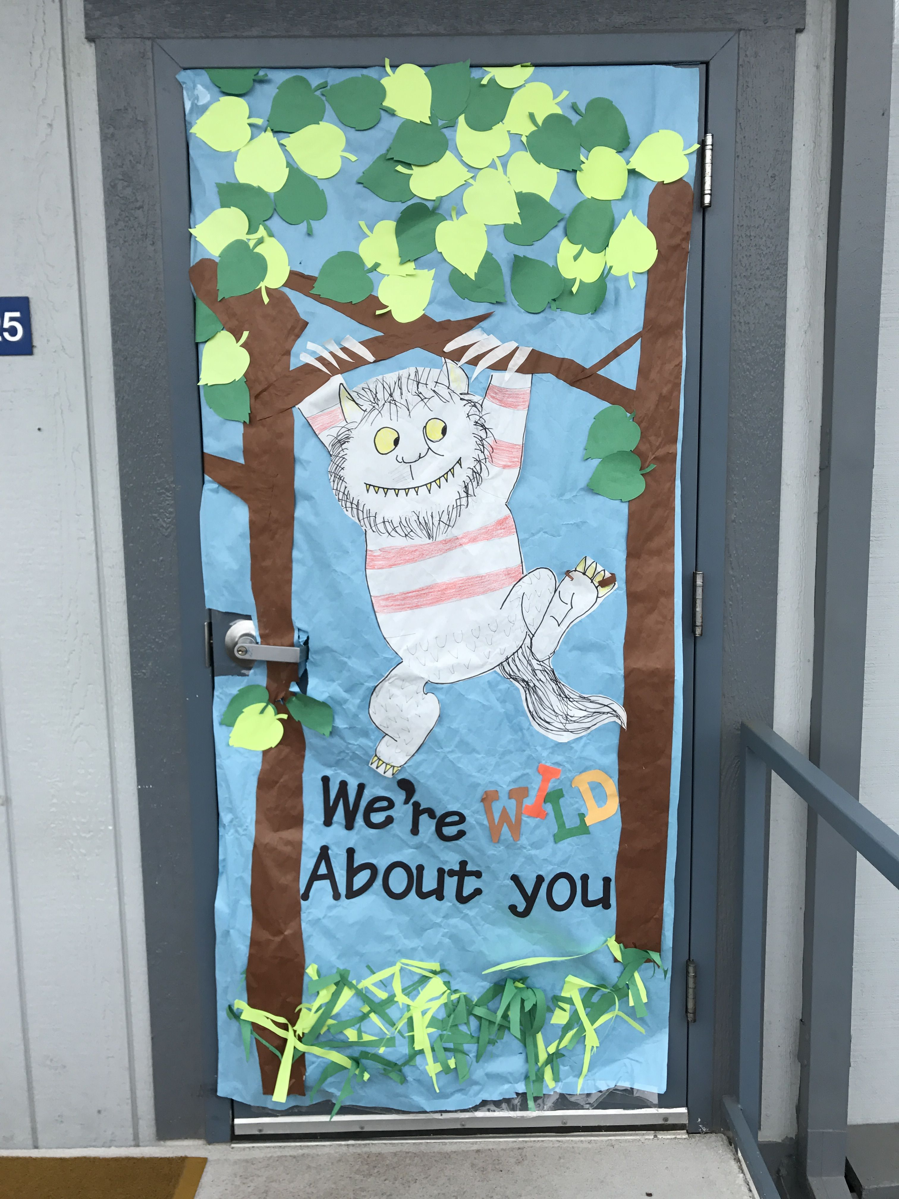 Where the Wild Things Are Teacher Appreciation Door ...