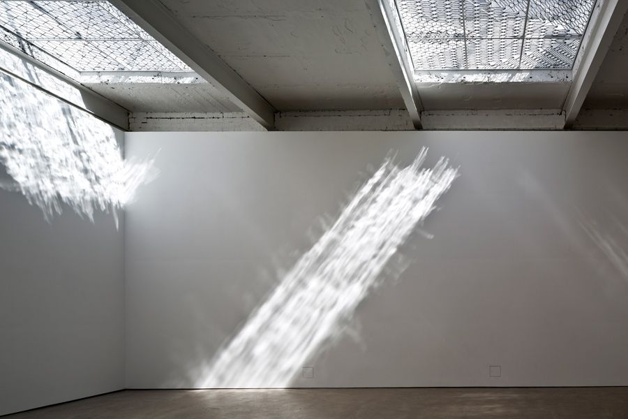 Richard Wright Installation at The Modern Institute - News - Frameweb