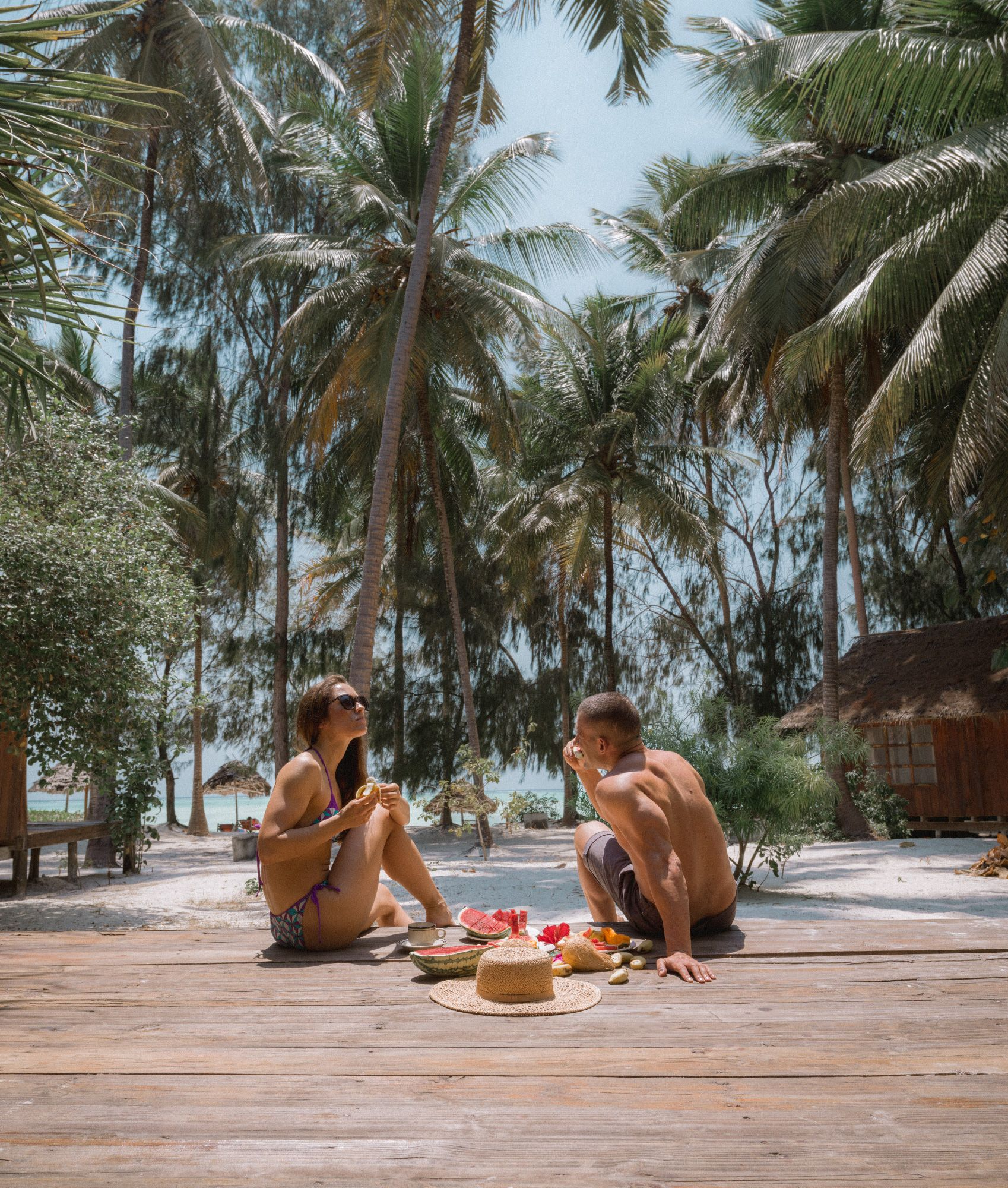 How not to love the tropics when you can have a breakfast like that