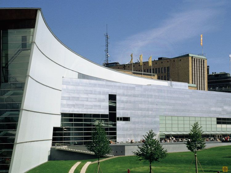 Kiasma Museum of Contemporary Art, Helsinki, Finland, 1992-1998   Steven Holl   Museums and Art ...