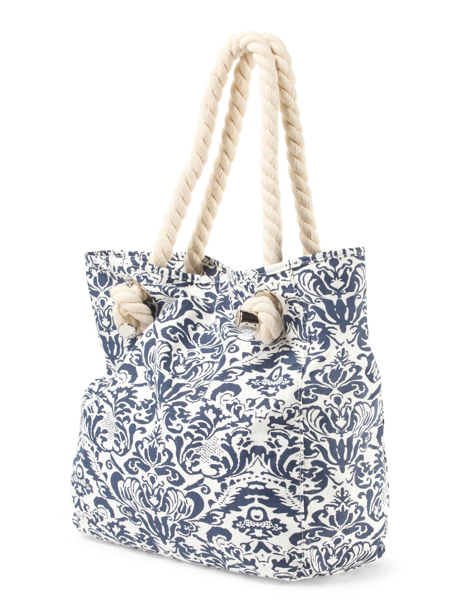 Donna Dixon Isla Splash Medium Tote From T J Ma Ideal For The Beach Wouldn You Say