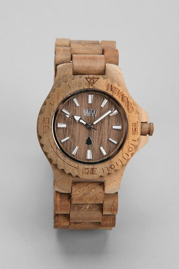 COol Wooden Watches - WeWOOD Date Watch #urbanoutfitters  - Who Wooden? Who Wouldn't!
