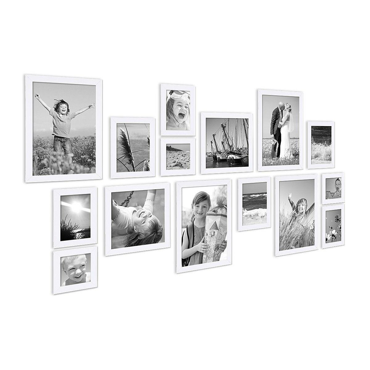 15er Bilderrahmen-Set Modern Weiss | Schwangerschaftsfotos ...