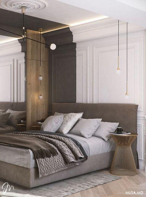 ArchiMoze 12 Modern Master bedroom Wohnen, Haus