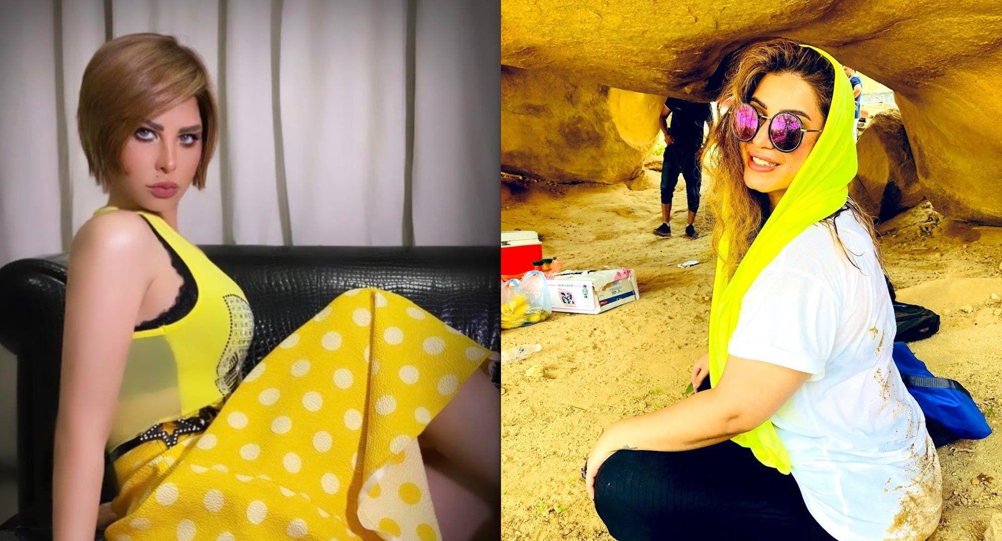 مشاعل الجلعود تسخر من شمس بعد أن بصق أهل مدينة الحائل عليها Fashion Sunglasses