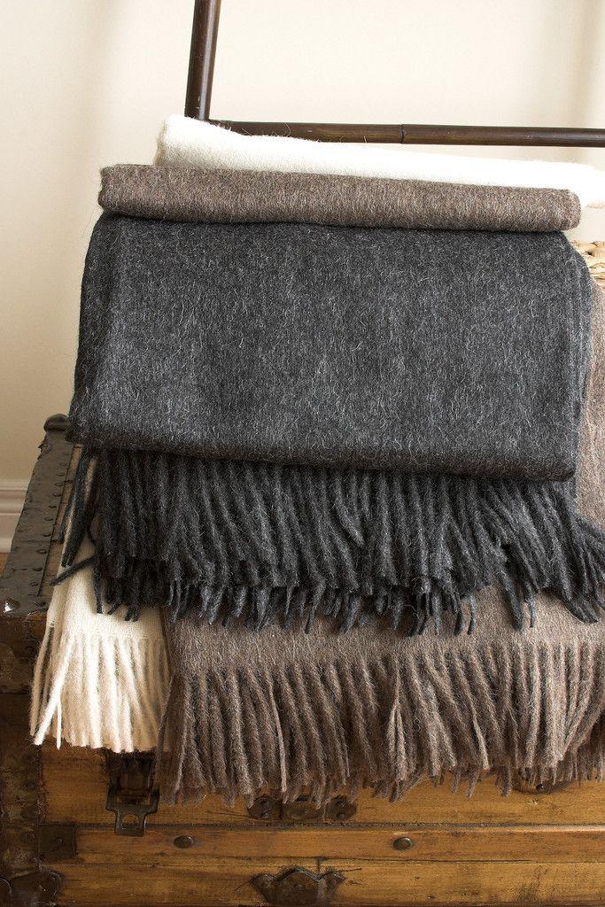 Bern Throw   Alpaca and Wool