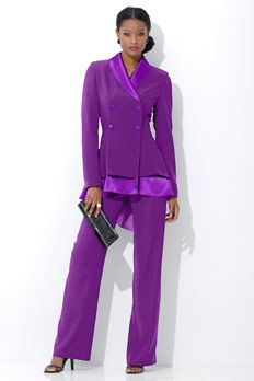 7c574068e6b Satin Fishtail Pantsuit (Come on get your gift suits and dresses for women)