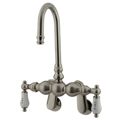 Vintage Wall Mount Clawfoot Tub Faucet Clawfoot Tub Faucet