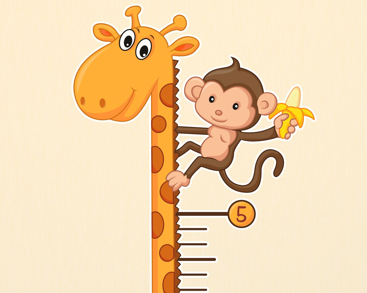 Giraffe growth chart wall decal growth charts giraffe and chart giraffe growth chart wall decal geenschuldenfo Image collections