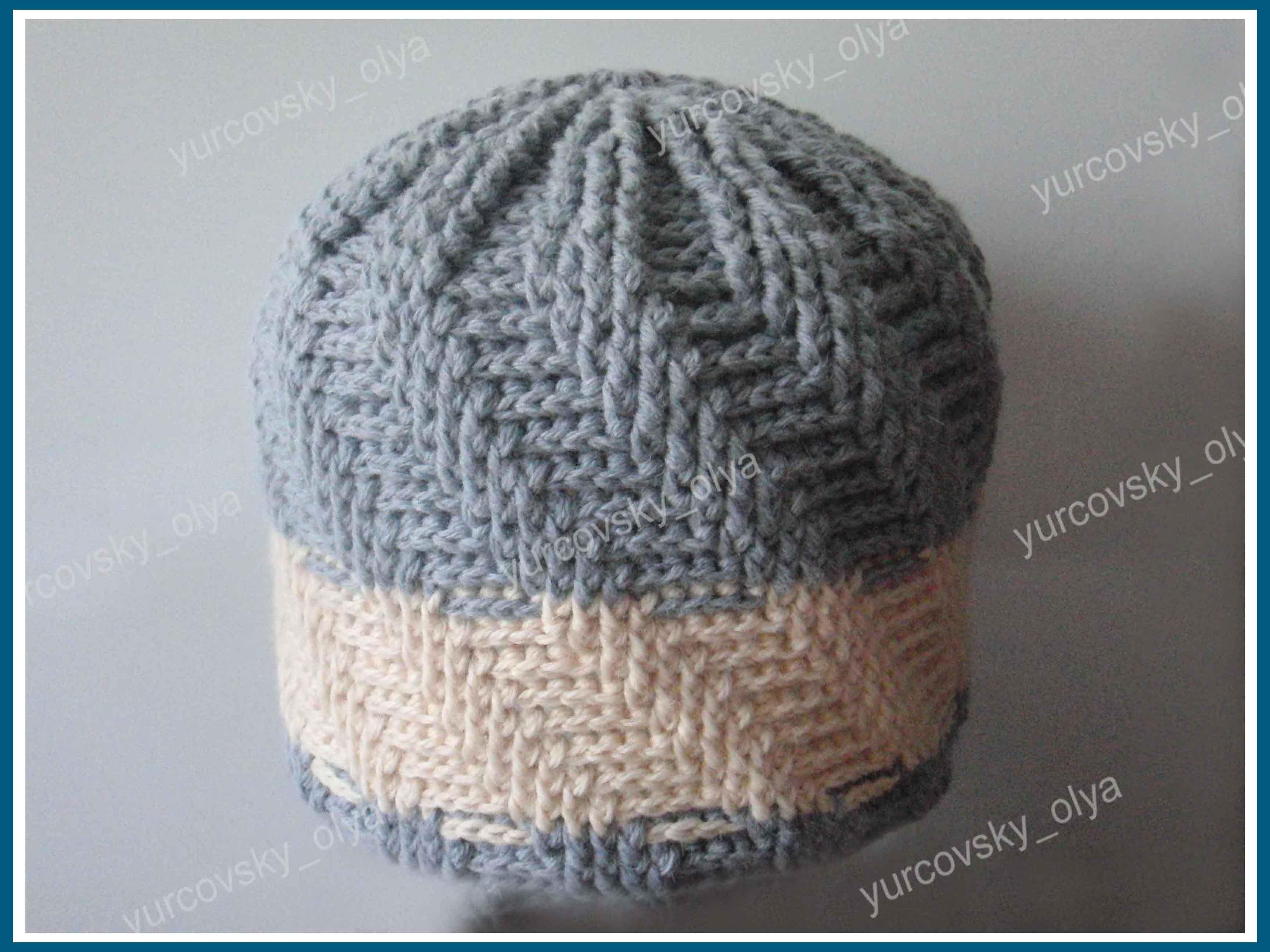 Вязание донышка шапки схемы