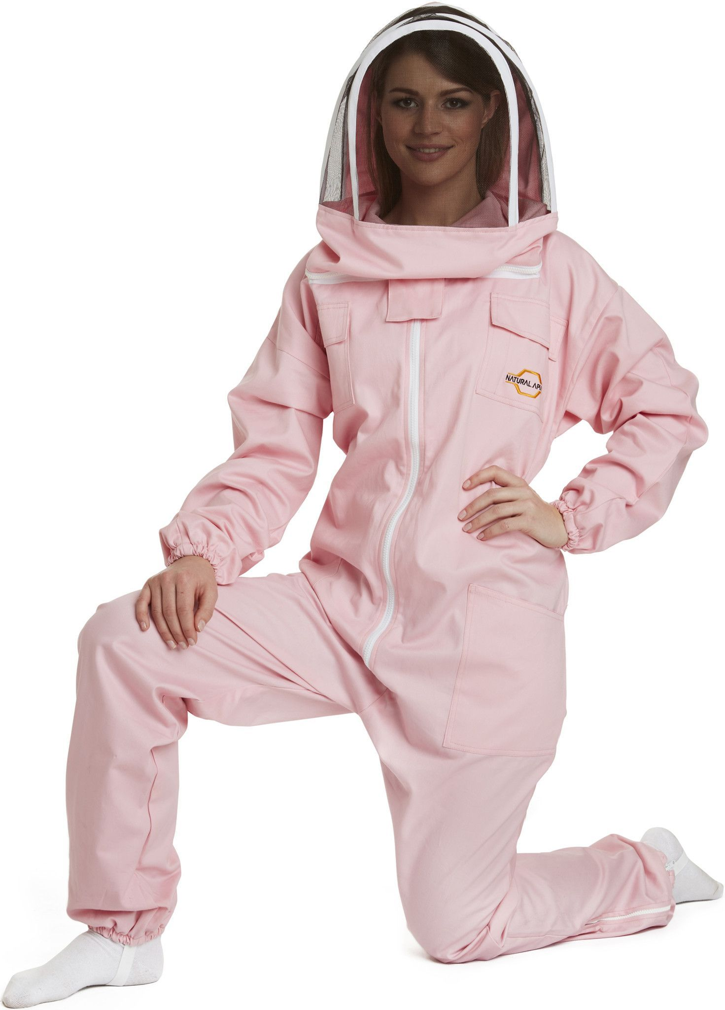 APIARIST Beekeeping Suit - Fencing Veil - Total Protection for Professional & Beginner Beekeepers