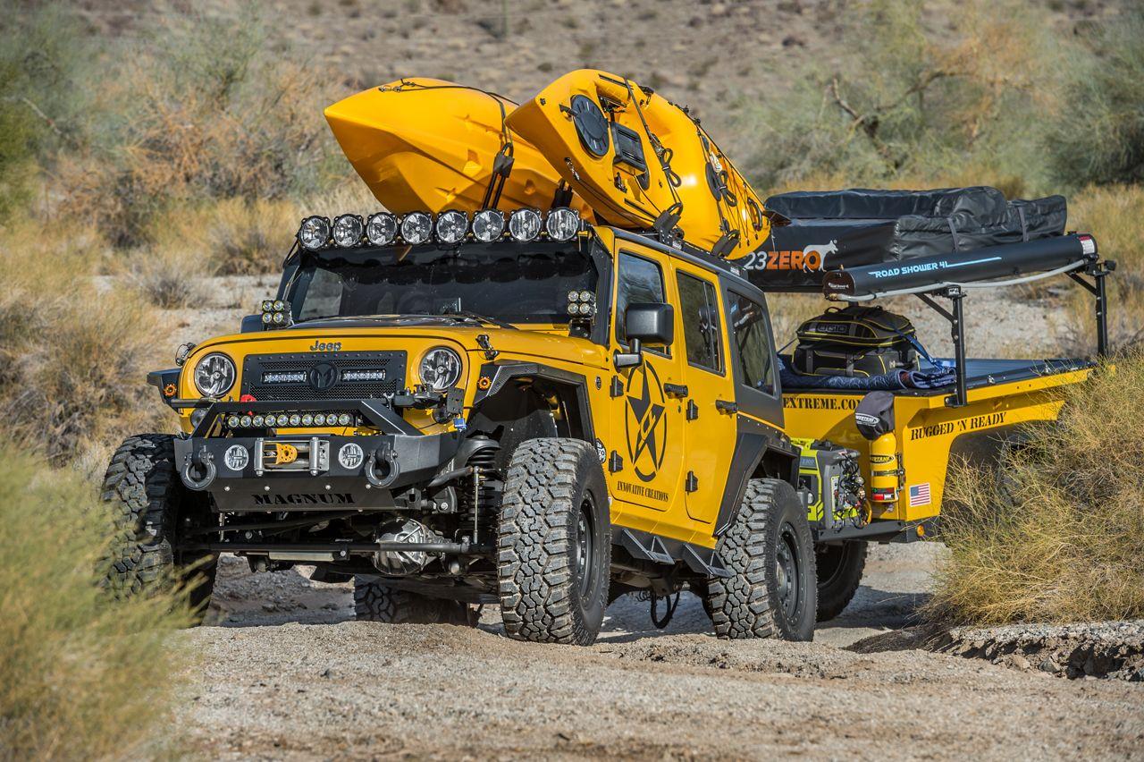 Build Of The Week Evolving Overland Jku Jeep Trailer Jeep