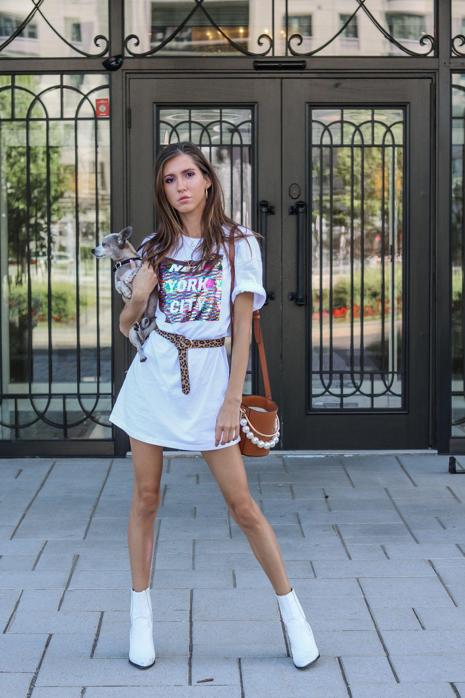 2 Ways To Wear The Oversized T Shirt Dress 20 Badass T Shirt Dresses You Need To Style Asap The Hungarian Brunette Fashion Oversized T Shirt Dress Sequin T Shirt Dress [ 2250 x 1500 Pixel ]