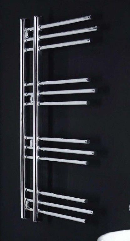 Radiador toallero modelo rubin cromado de zeta series for Toallero cromado para bano