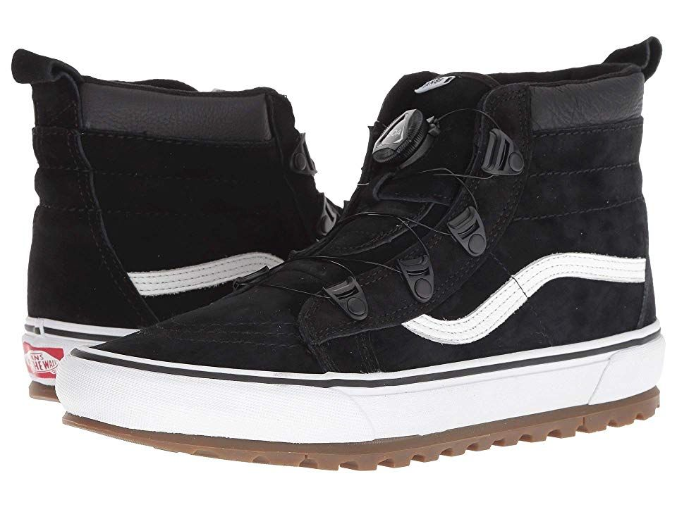 7093f53f67c Vans SK8-Hi MTE BOA (Black True White) Shoes. Stay dialed in during ...