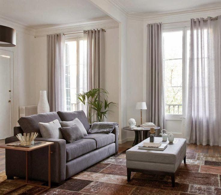Cortinas para el sal n visillos dormitorio en 2019 - Cortinas para salon estilo moderno ...