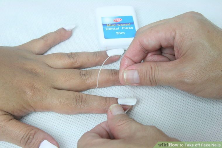 3 Ways to Take off Fake Nails - wikiHow   saved stuff   Pinterest