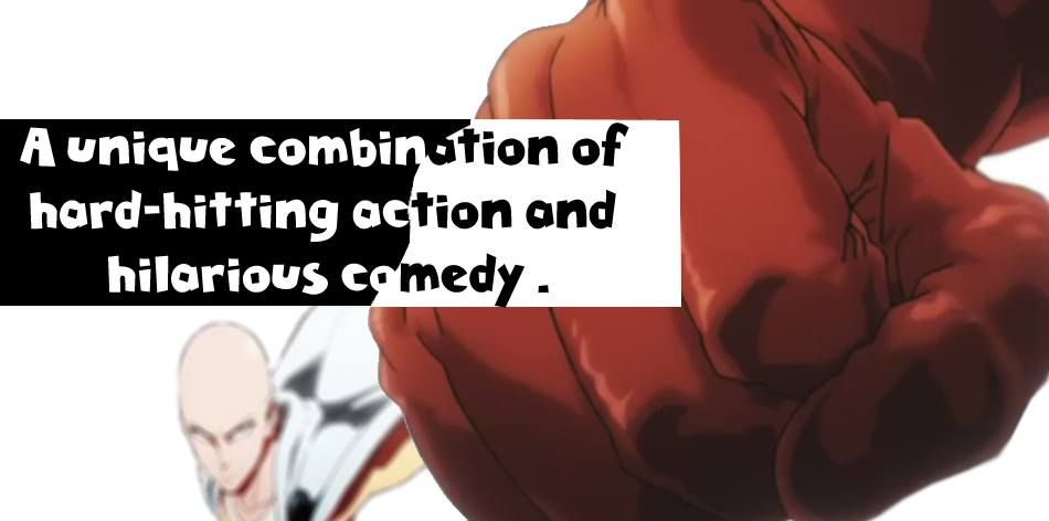 #OnePunchMan manages to weak a single joke over and over without ever getting old.