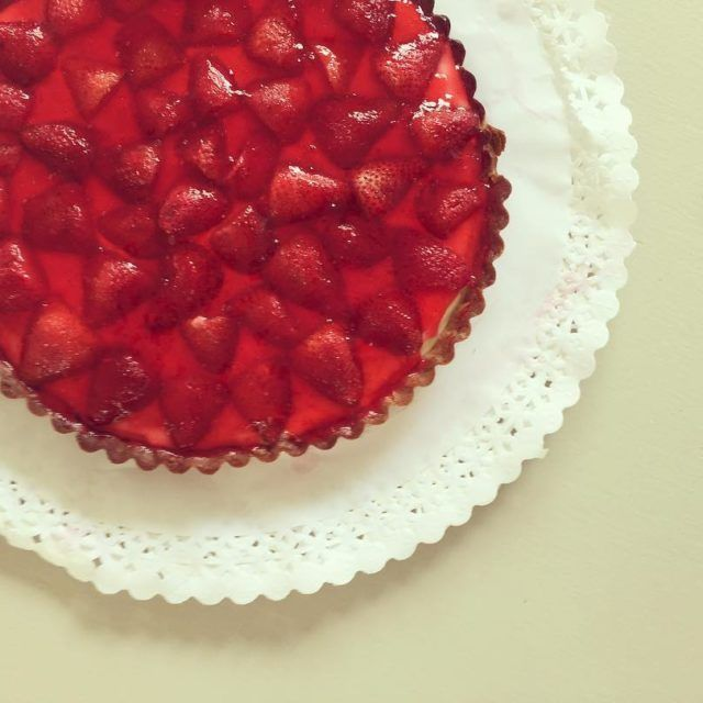 El secreto de la gelatina en las tartas de frutillashellip
