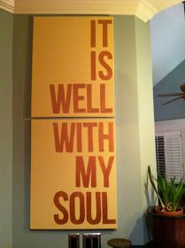 gardenseed blessings: it is well with my soul