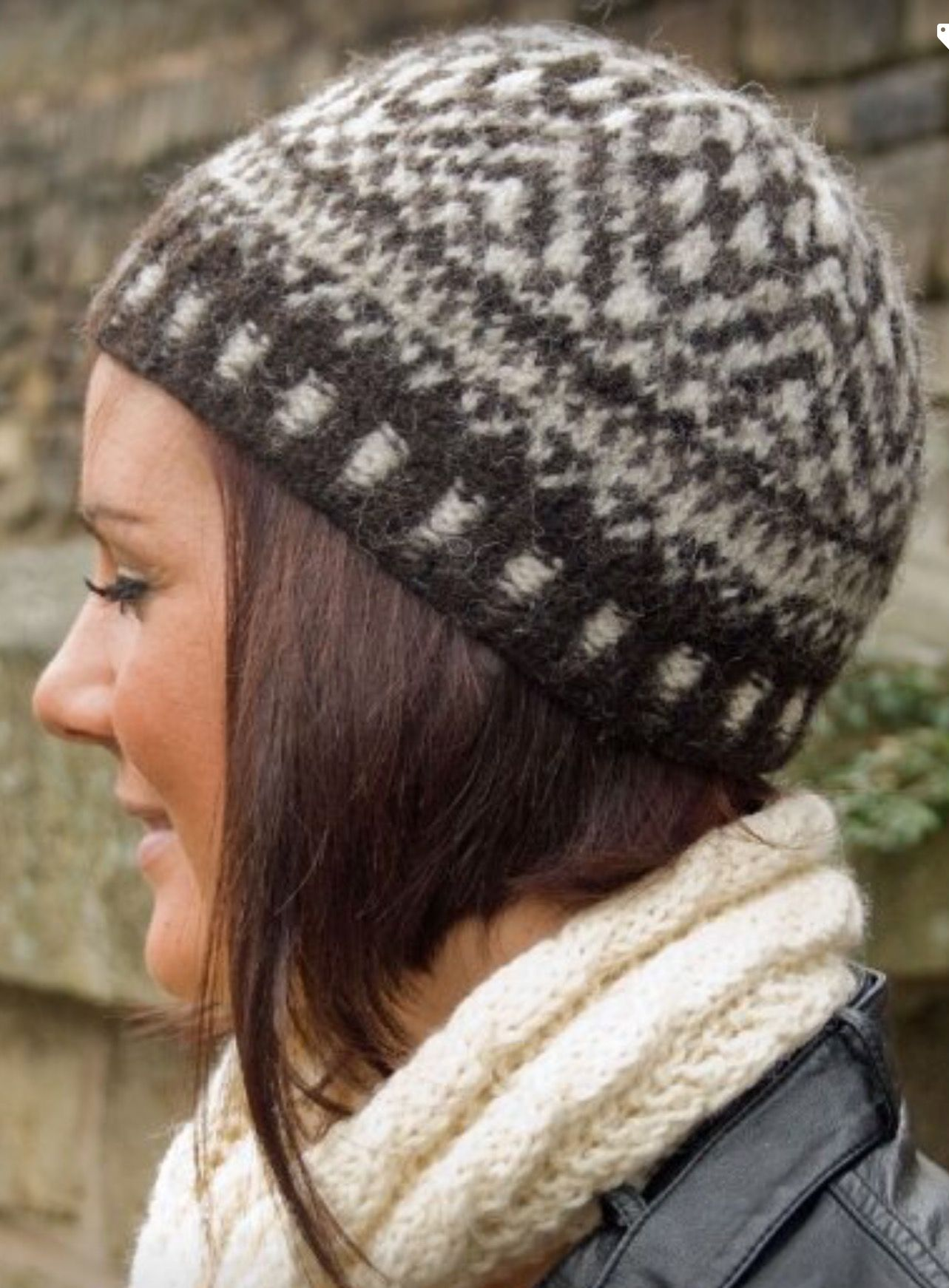 Felted British naturals Faire isle hat | A cross section of my work ...