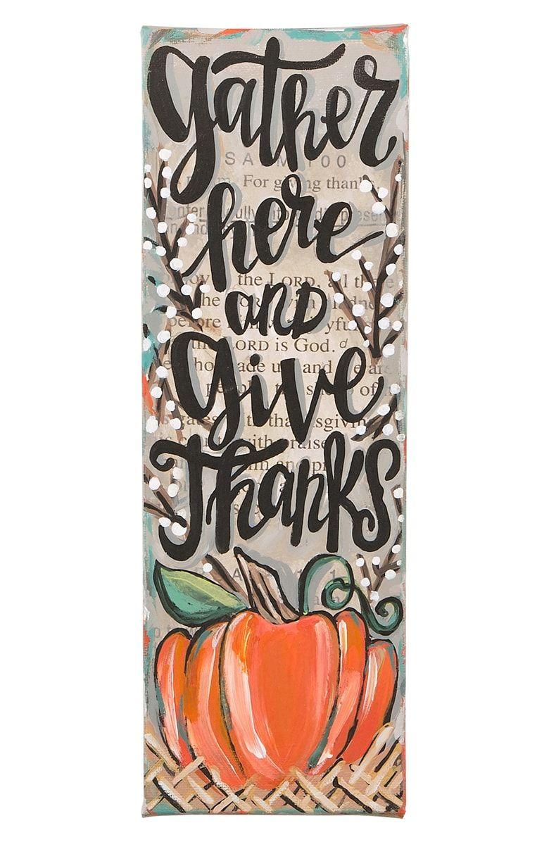 Thanksgiving Wall Decorations Diy
