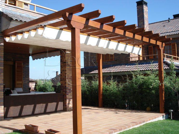Another Pergola Idea En 2019 Pergolas De Madera Porches
