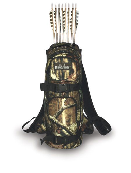 Tactical Back Quiver | Keyes Hunting Gear: 3D Quiver Pack | archery ...