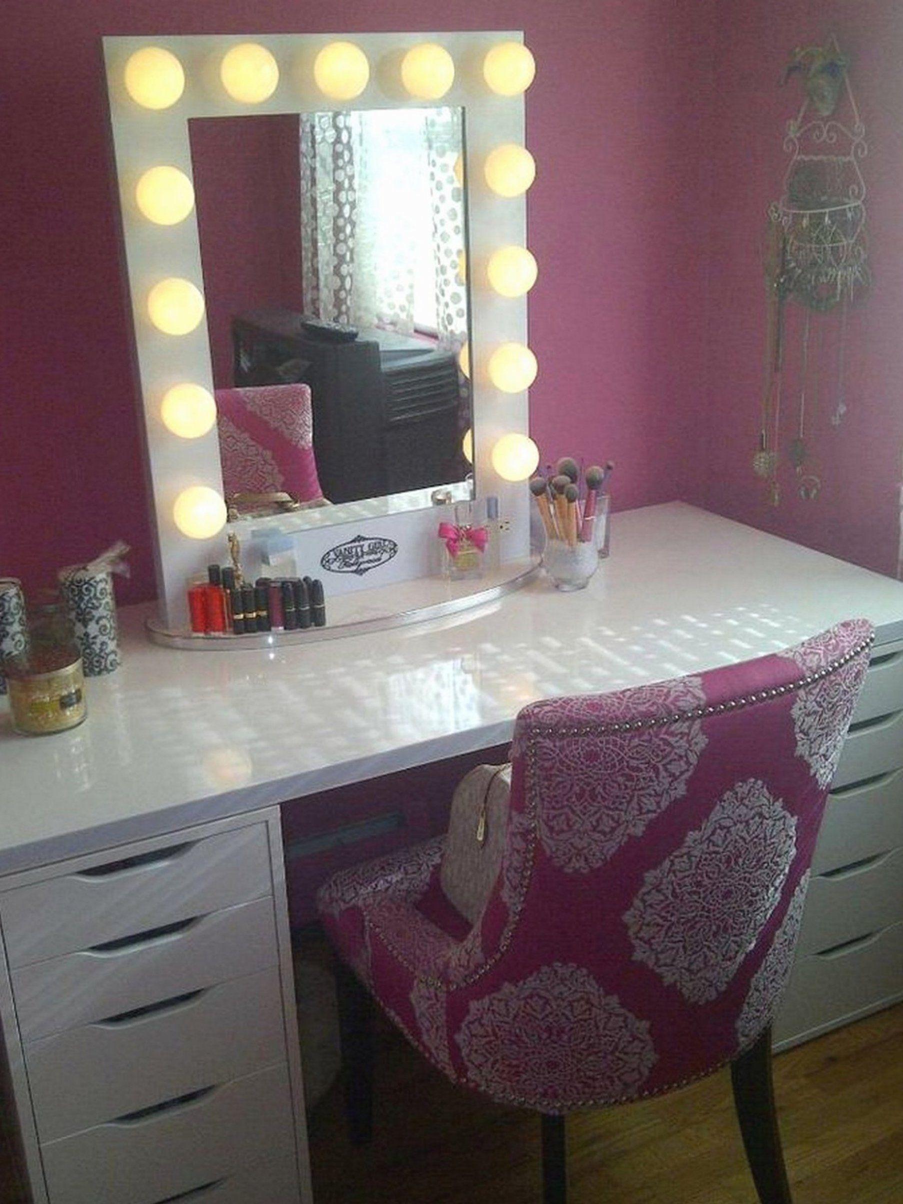 Bedroom Vanity No Mirror New Bedroom Snazzy Makeup Vanity With Drawers And Mirror Beautytutorials Ba In 2020 Bedroom Vanity Set Bedroom Vanity With Lights Vanity Set