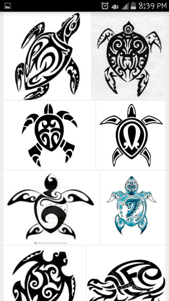 Pin By Julie Reyes On Artsy Fartsy Tribal Turtle Tattoos Turtle Tattoo Polynesian Tattoo Designs