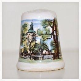 My Thimble Collection Piekna Nasza Polska Cala Thimbles Antiques Sewing Tools