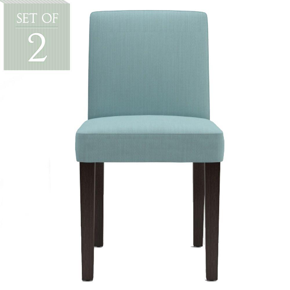 Best Set Of 2 Jesper Dining Chair Set Porcelain Blue By 640 x 480