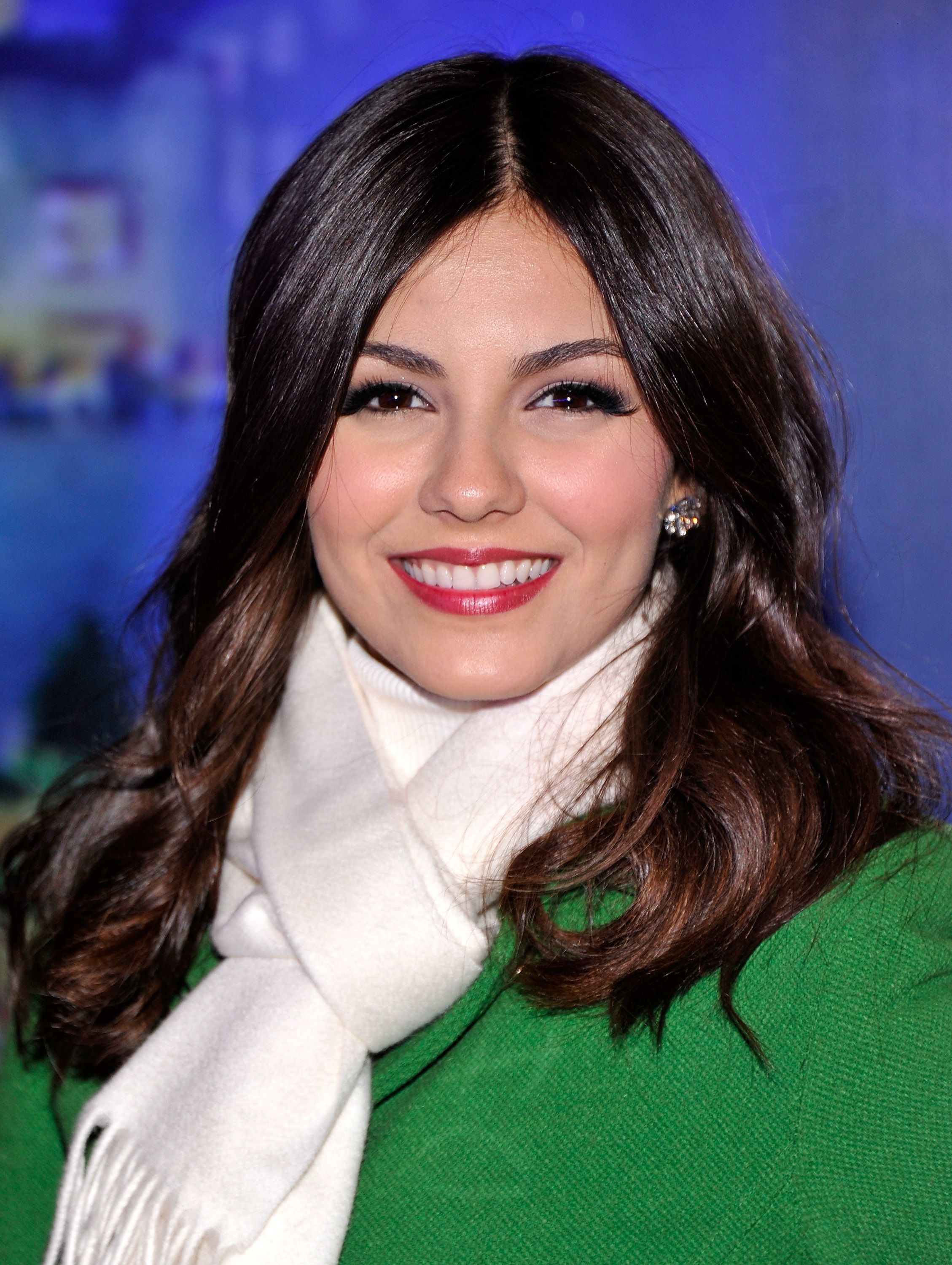 Victoria Justice, 80th Annual Rockefeller Center Christmas Tree Lighting Ceremony in NYC.