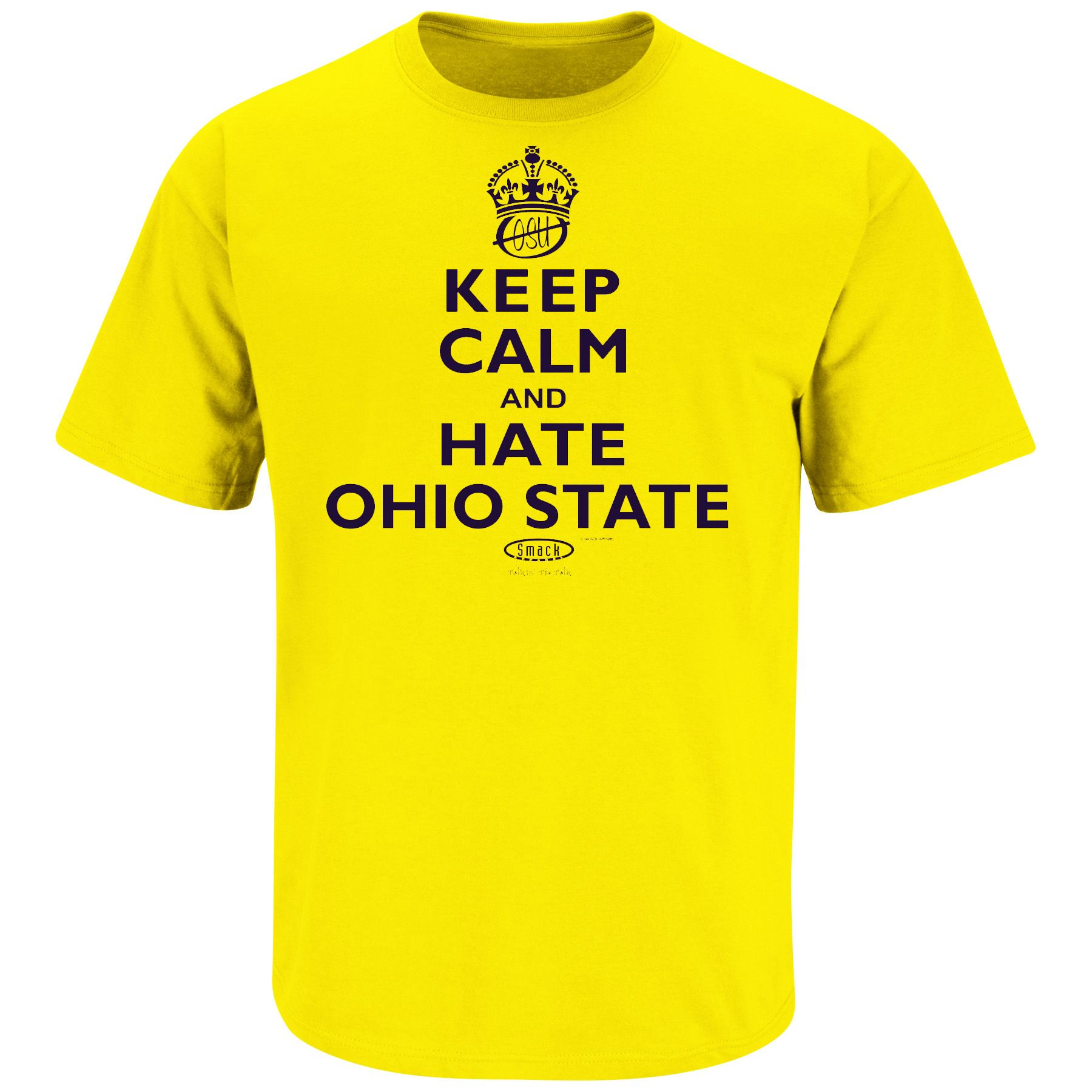 9e101004 Keep Calm and Hate Ohio State | Michigan Funny T-shirts | Pittsburgh ...