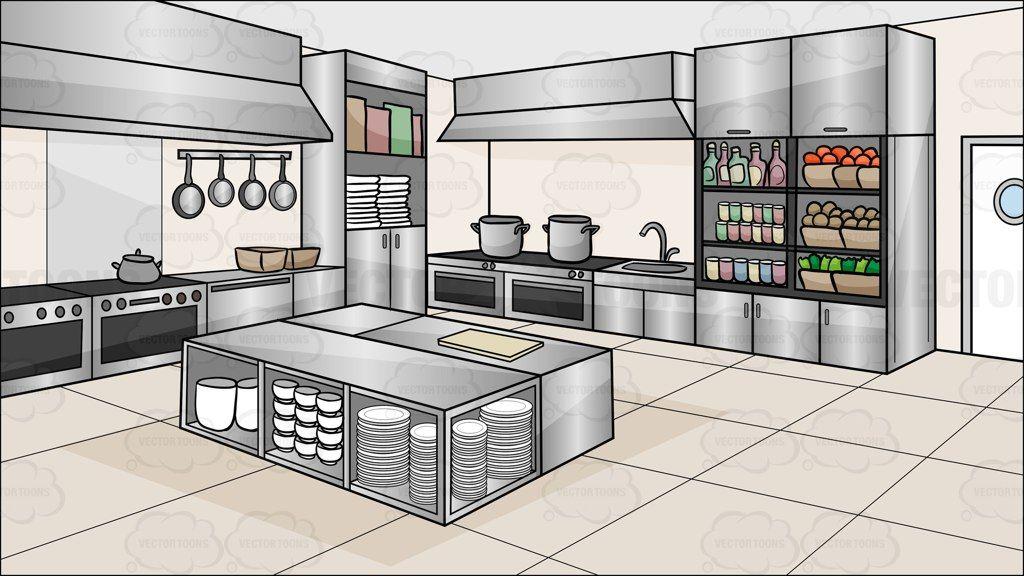 Restaurant Kitchen unique restaurant kitchen background art amp graphics with