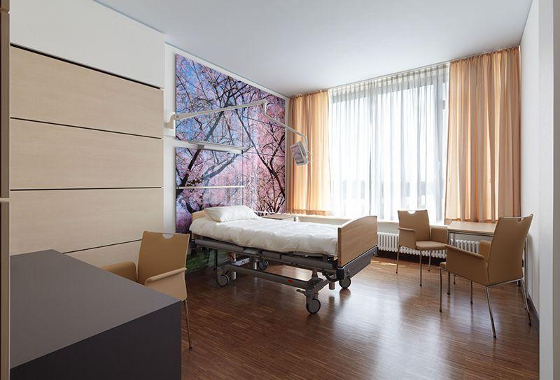 Patientenzimmer im Schwarzwald-Baar Klinikum in Villingen ...