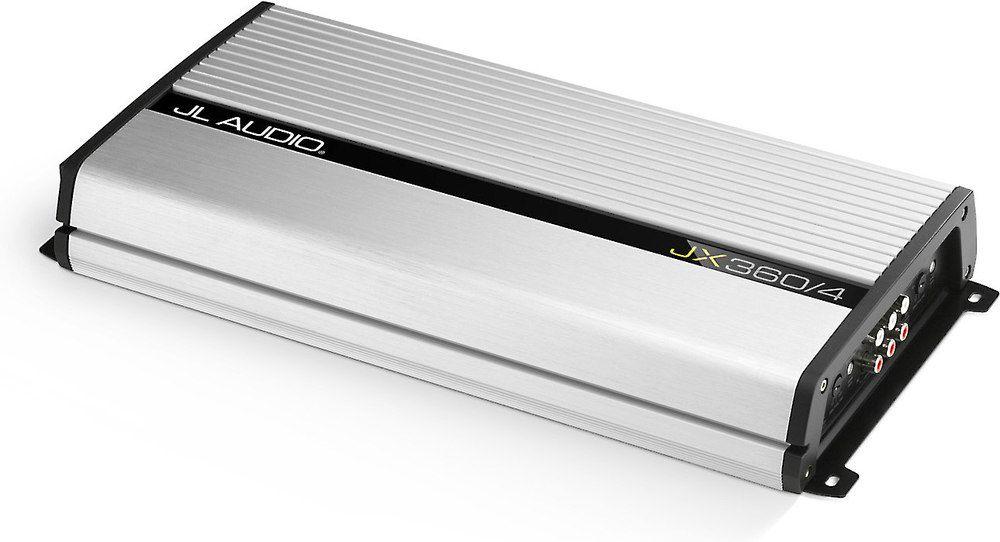 4-channel car amplifier — 70 watts RMS x 4