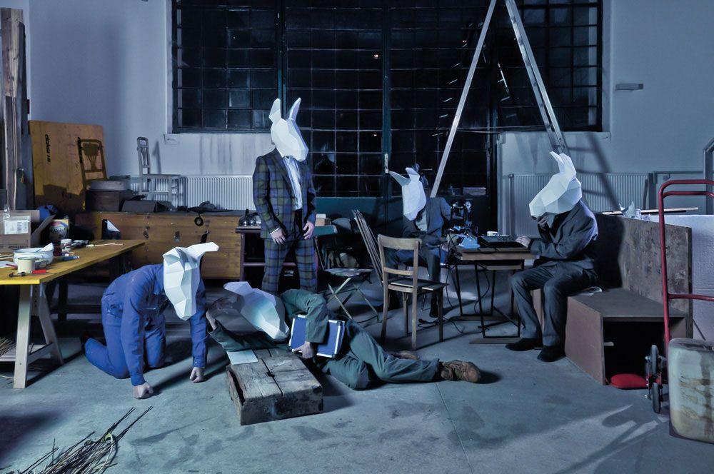 #designausstellung im stilwerk Wien »Fragil. Von der Eroberung des Raumes mit Papier«